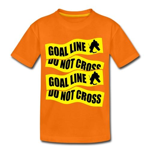 Hockey Goal Line Do Not Cross