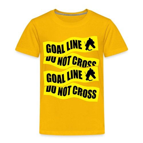 Goal Line Do Not Cross Children's T-Shirt - Kids' Premium T-Shirt