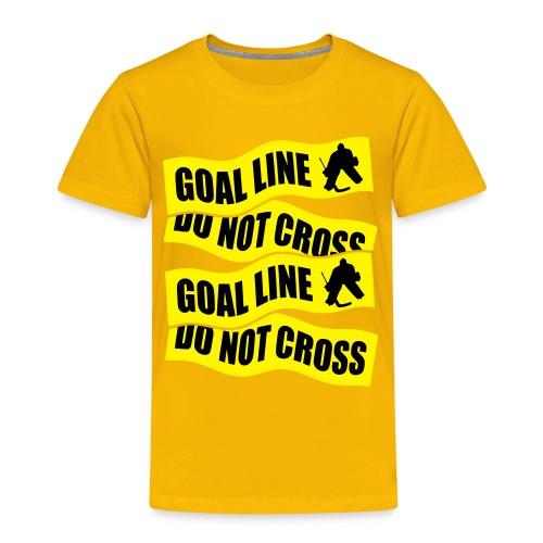 Goal Line Do Not Cross Children's T-Shirt - Kids' Premium T-Shirt
