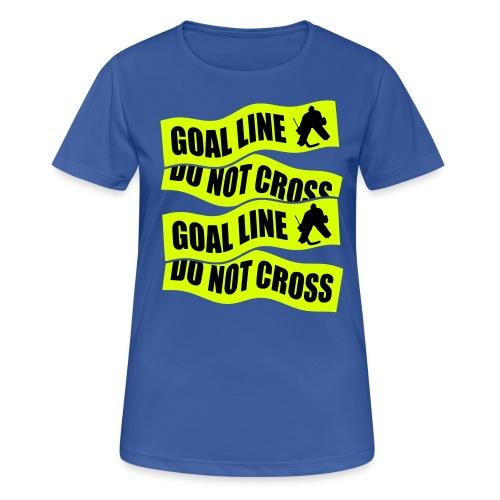 Goal Line Do Not Cross Women's Breathable T-Shirt - Women's Breathable T-Shirt