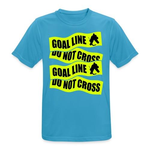 Goal Line Do Not Cross Men's Breathable T-Shirt - Men's Breathable T-Shirt