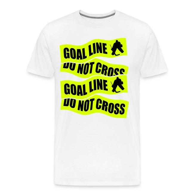 Goal Line Do Not Cross Men's Premium T-Shirt