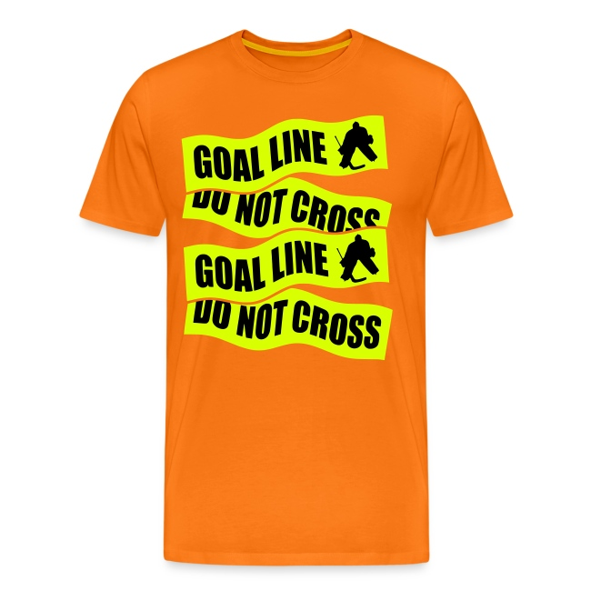 Goal Line Do Not Cross Men's Premium T-Shirt