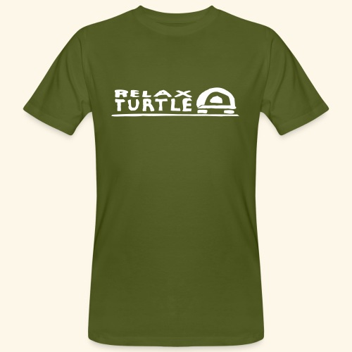 relaX turtle T-Shirt - Männer Bio-T-Shirt