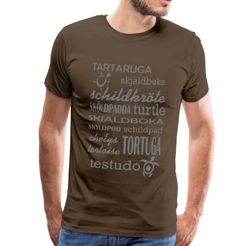 Schildis gibt es Überall T-Shirt - Männer Premium T-Shirt