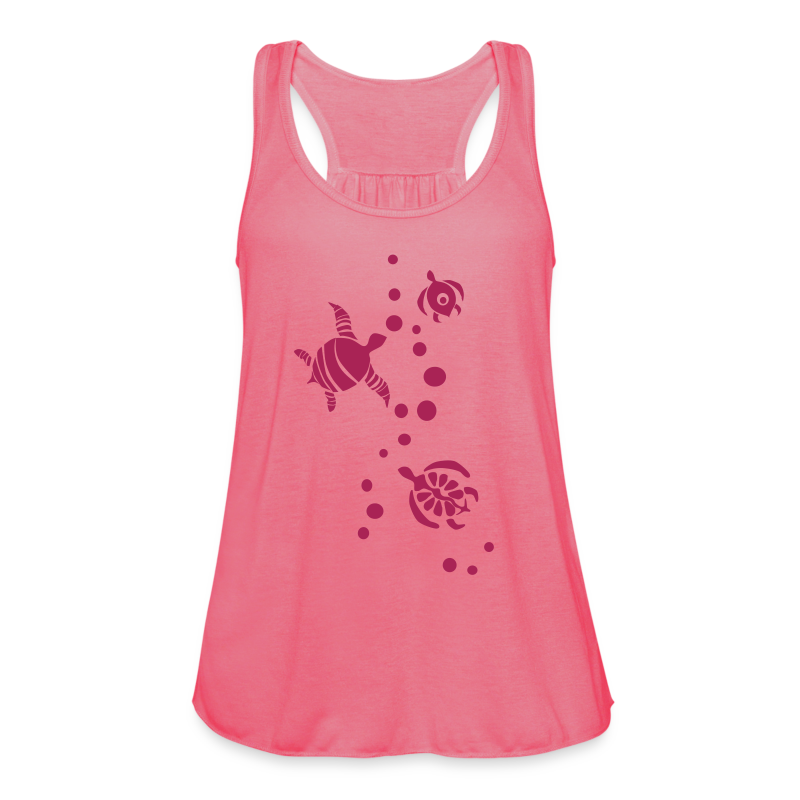 Damen Top - Seaturtles - Frauen Tank Top von Bella
