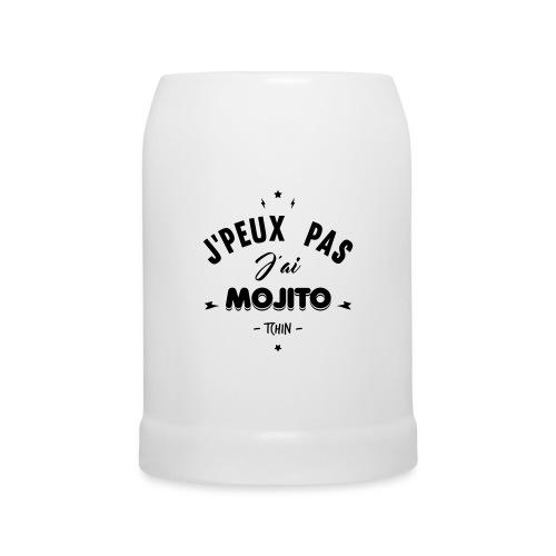 j'peux pas j'ai mojito - Chope en céramique