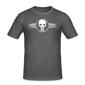 Skull corp - Tee shirt près du corps Homme