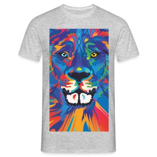 Lion Löwe Leeuw Leon - Men's T-Shirt