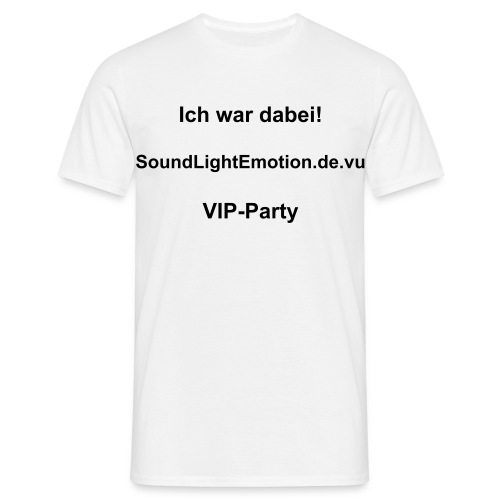 VIP-Party Men - Männer T-Shirt