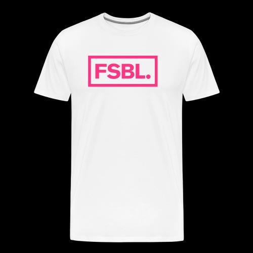 Original FSBL. Shirt - Pinker Druck - Männer Premium T-Shirt