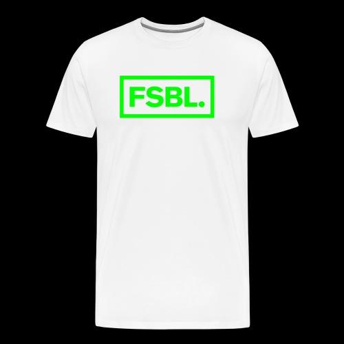 Original FSBL. Shirt - Giftgrüner Druck - Männer Premium T-Shirt