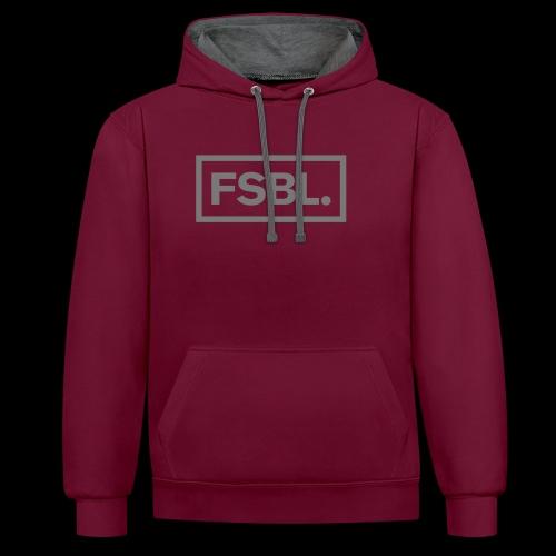 Original FSBL. Shirt - Just Hoods Hoodie - Kontrast-Hoodie