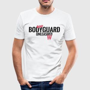 Wild bodyguard unleashed T-Shirts - Men's Slim Fit T-Shirt