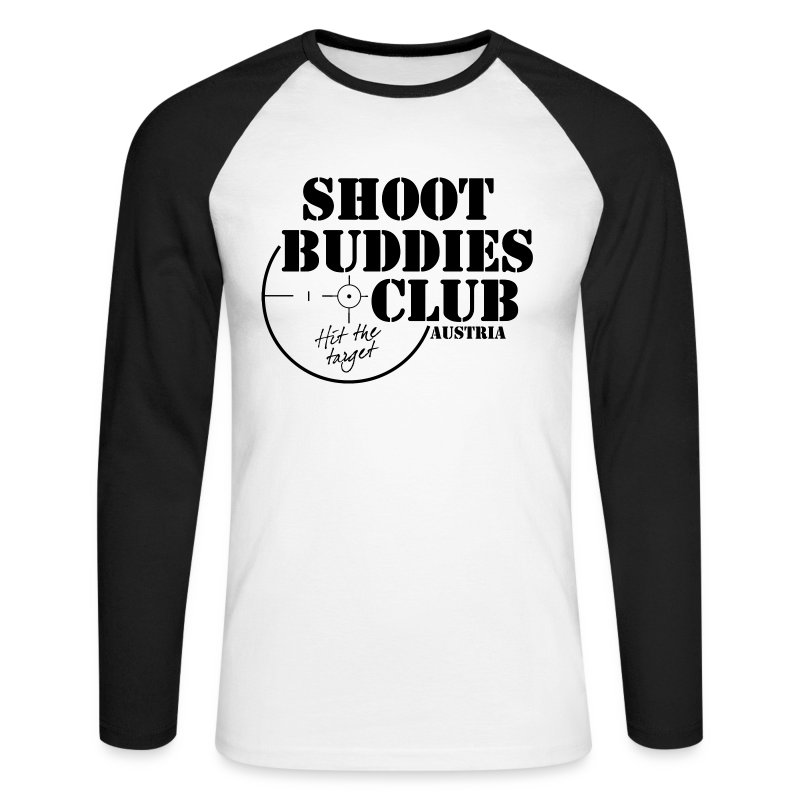 SBCA Retro Logsleeve - Männer Baseballshirt langarm