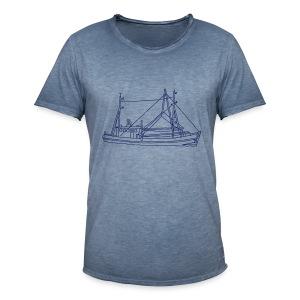 Fischerboot - Männer Vintage T-Shirt