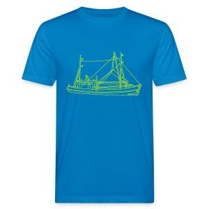 Fischerboot - Männer Bio-T-Shirt