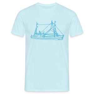 Fischerboot - Männer T-Shirt