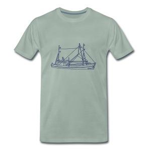 Fischerboot - Männer Premium T-Shirt