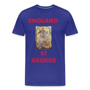 England and Saint George - Men's Premium T-Shirt