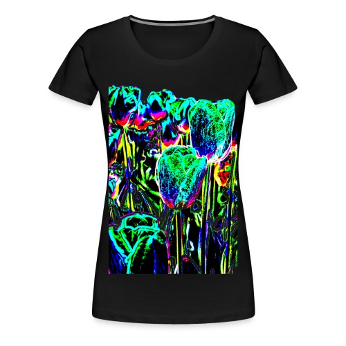 Tulpen - multicolor-3 - Frauen Premium T-Shirt
