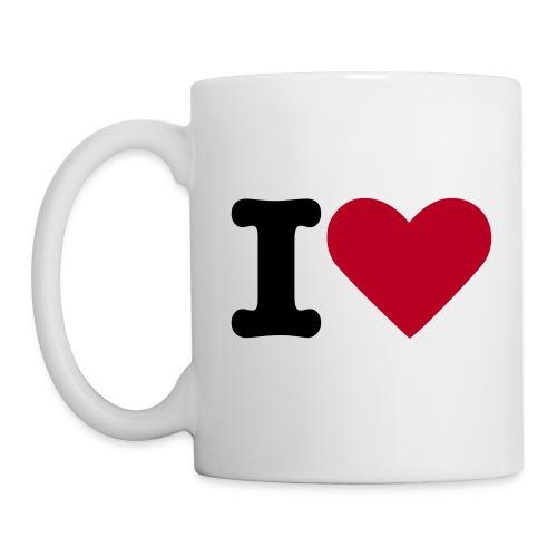 tasse ilove - Mug blanc