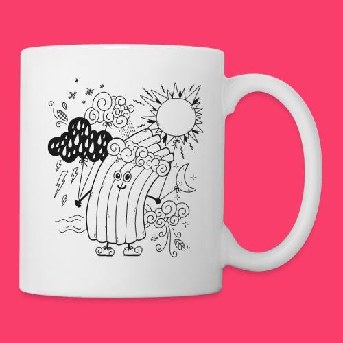 Rudi Regenbogen Kinder-Tasse zum Ausmalen - Tasse