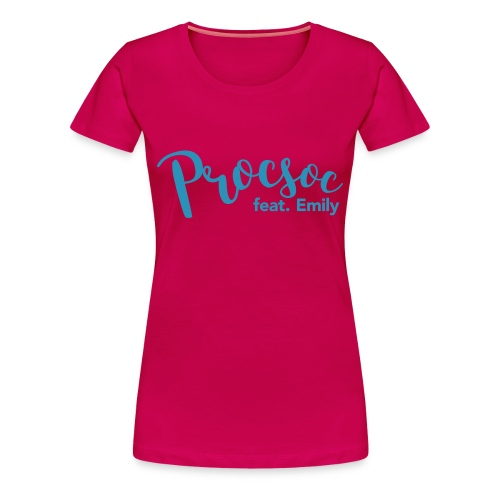 P feat E - Women's Premium T-Shirt