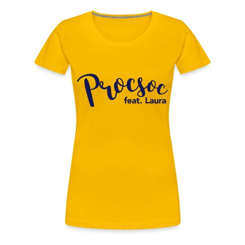 P feat L - Women's Premium T-Shirt