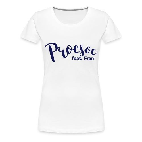 P feat F - Women's Premium T-Shirt