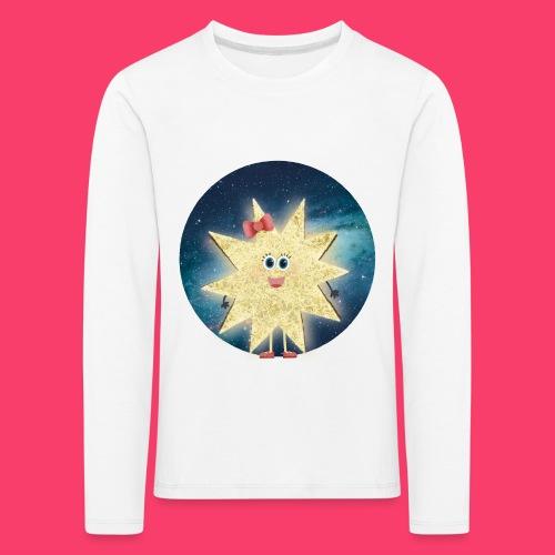 Stella Stern: Galaxy Kinder-Sweatshirt - Kinder Premium Langarmshirt