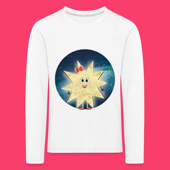 Stella Stern: Galaxy Kinder-Sweatshirt