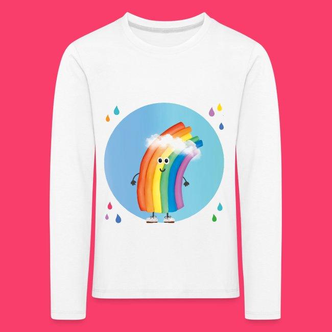 """Rudi Regenbogen Kinder-Sweatshirt """"Regentropfen Aquarell"""""""
