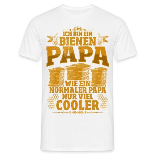 Ich bin ein Bienen Papa, wie ein normaler Papa, nur viel cooler - Männer T-Shirt