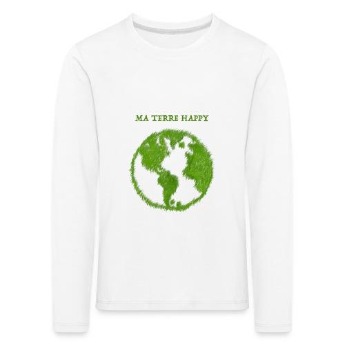 Tee shirt manches longues Premium Enfant, Nuréa TERR HAPPY - T-shirt manches longues Premium Enfant