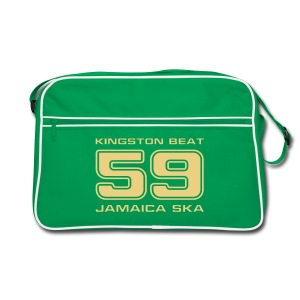 braune Retro-Tasche Kingston Beat 59 - Retro Tasche