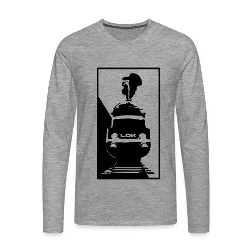 LOKOMOTIVE - Männer Premium Langarmshirt