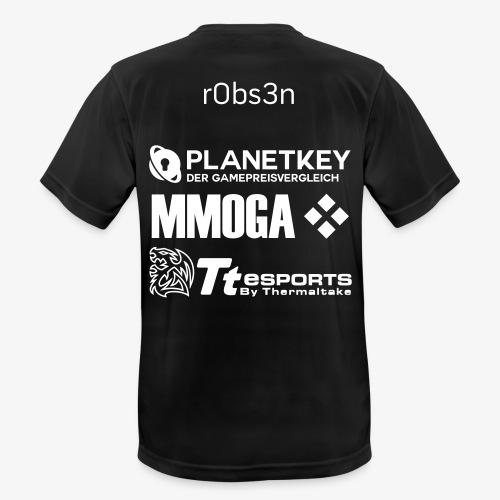 Planetkey Dynamics - r0bs3n Team-Jersey - Männer T-Shirt atmungsaktiv