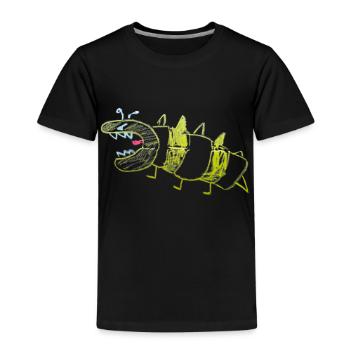 A very angry young dino wasp - Kinderen Premium T-shirt