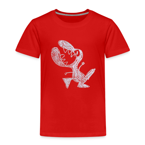 A young, livid little dragon - Kinderen Premium T-shirt