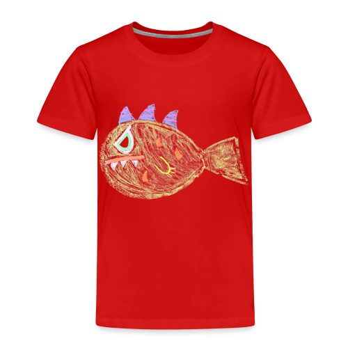 A young dirty rotten fish - Kinderen Premium T-shirt