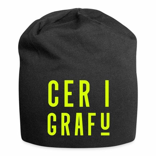 Car I Grafu Relaxed Beanie Hat - Jersey Beanie
