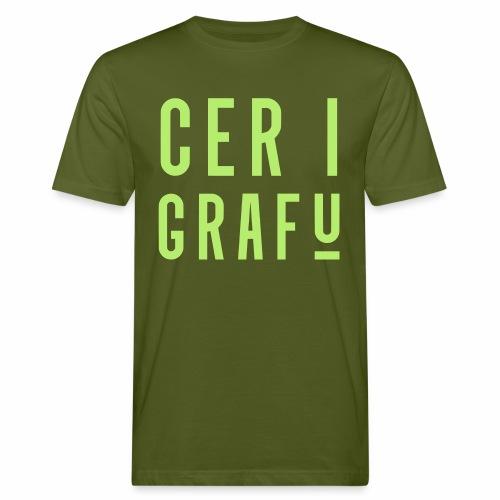 Car I Grafu Men's Organic T-Shirt - Men's Organic T-shirt