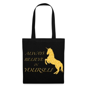 BELIEVE IN YOURSELF Tasche - Stoffbeutel