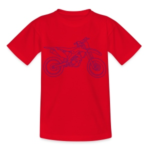 Motocross Motorrad - Teenager T-Shirt