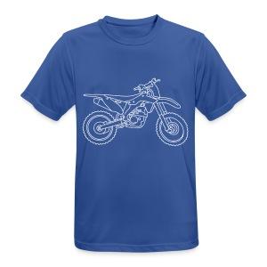 Motocross Motorrad - Männer T-Shirt atmungsaktiv
