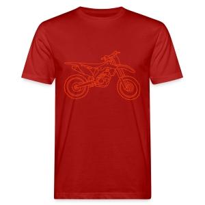 Motocross Motorrad - Männer Bio-T-Shirt