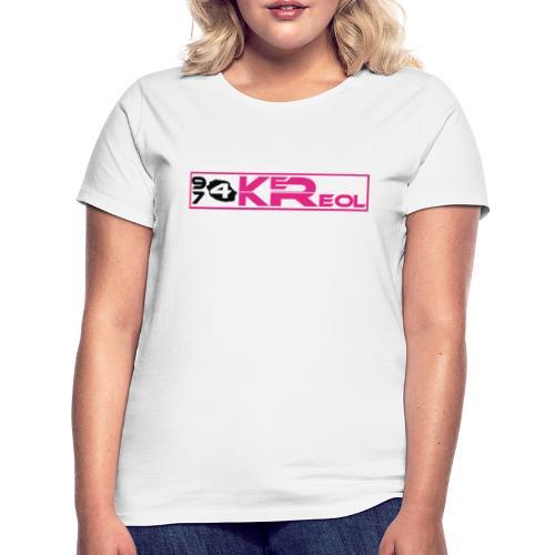 T-shirt Femme 974 Ker Kreol - T-shirt Femme