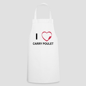 Tablier de cuisine I love Carry Poulet - Tablier de cuisine