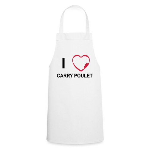 Tablier de cuisine I love Carry Poulet - Tablier de cuisine